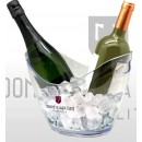 Vasque transparente 2 bouteilles
