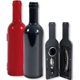 Coffret 3 accessoires forme bouteille