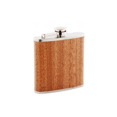 Flasque acier avec revêtement bois