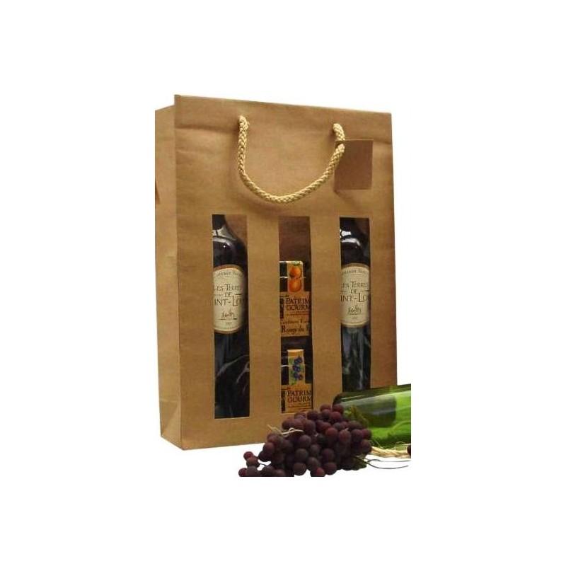 sac pour bouteille de vin. Black Bedroom Furniture Sets. Home Design Ideas